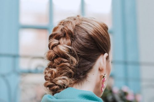 peinado para invitada