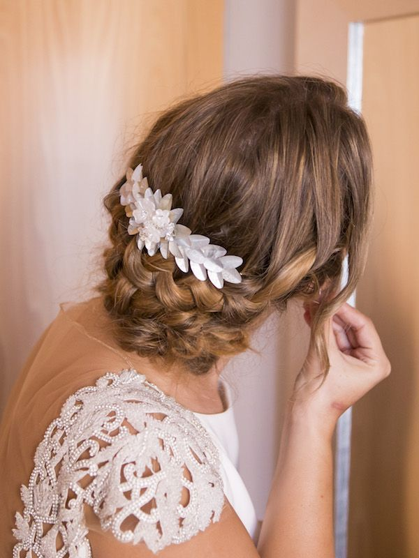Peinados para novia imagenes