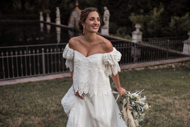 vestidos de novia boho chic en madrid – mini vestidos