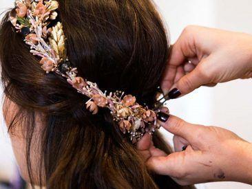 Peinado y maquillaje para novia
