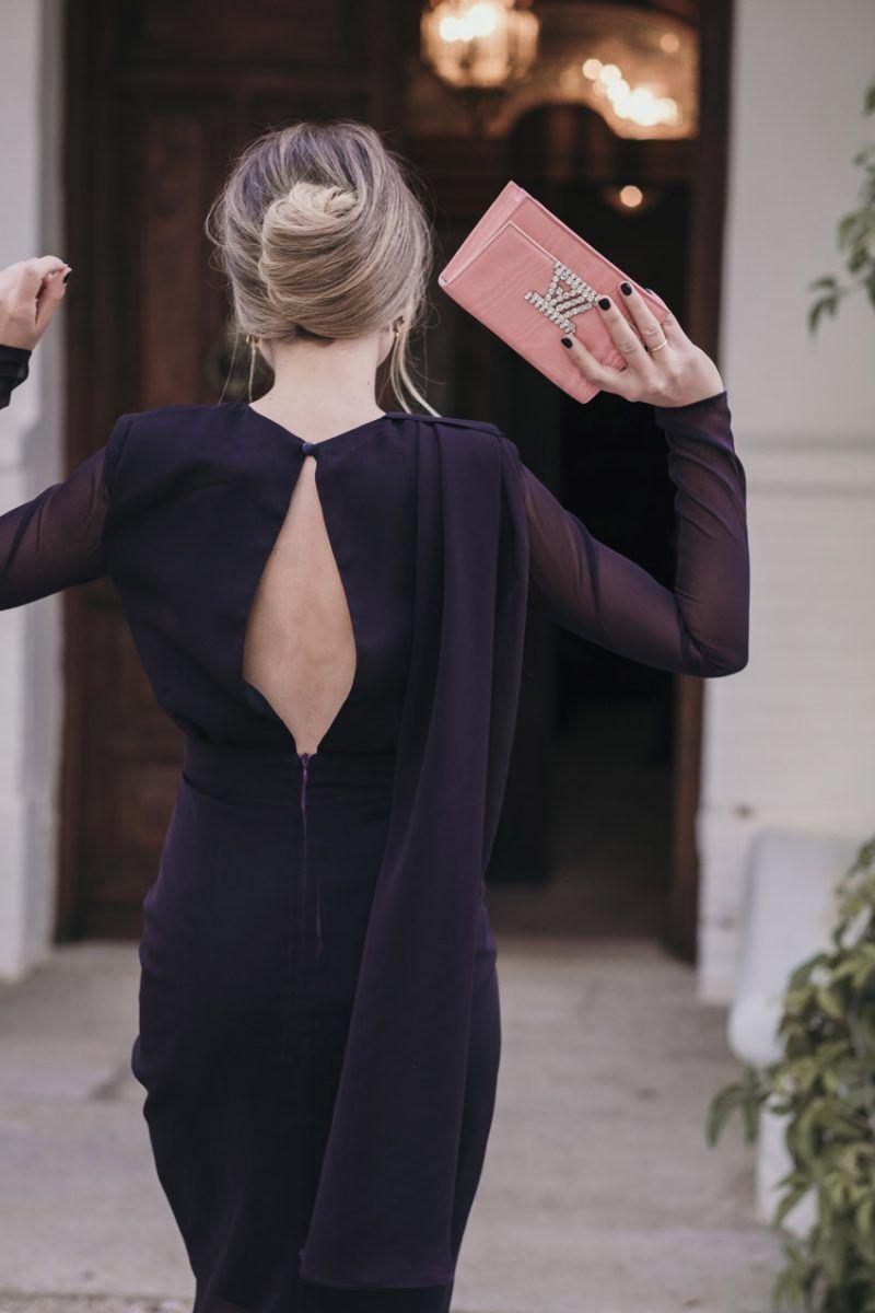 Vestido Vogana gasa invitada boda 14