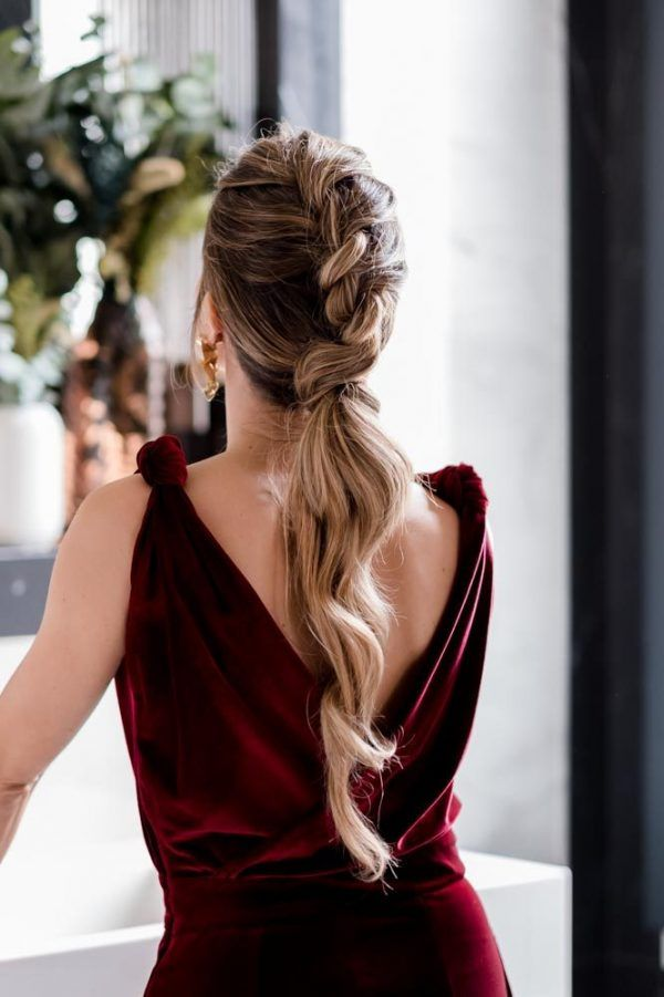 peinados para navidad oui novias