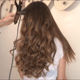 Natural wave con GHD CURVE CLASSIC