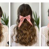 Tres peinados para usar tu lazo Oui Novias.